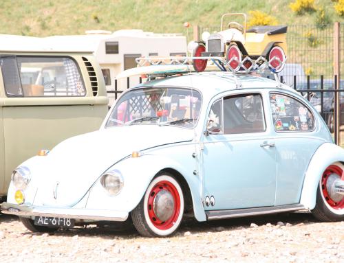 VW Kever – Light blue